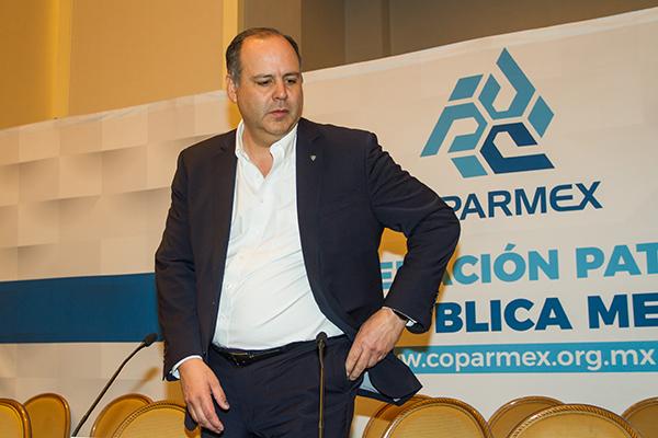 Gustavo de Hoyos, presidente nacional de Coparmex. FOTO: CUARTOSCURO