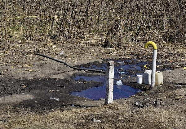 El desabasto de gasolina comenzó a sentirse el 2 de enero de 2019. Foto: Cuartoscuro