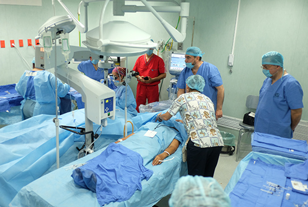 Durante los cinco días en que se realizó esta Jornada Quirúrgica BIENESTAR en Oftalmología, fueron valoradas 452 personas. FOTO: ESPECIAL