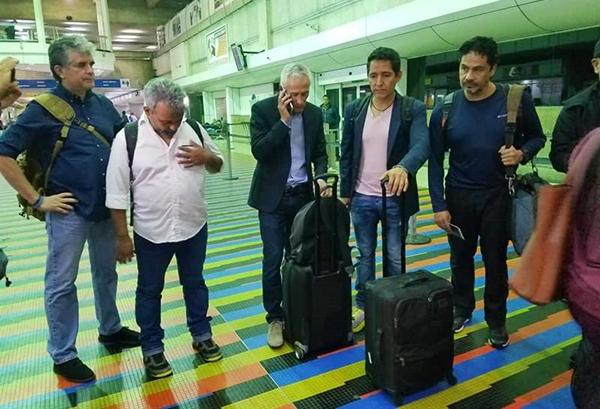 Jorge Ramos fue retenido con su equipo de producción en Venezuela. FOTO: EFE