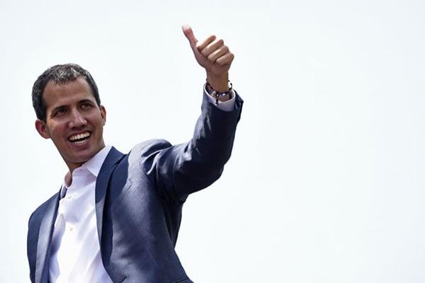 Una veintena de países, entre ellos Estados Unidos decidieron no reconocer el segundo mandato de Maduro que comenzó el 10 de enero. Foto: AFP