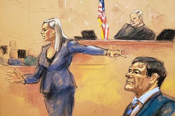 El jurado lo condenó por 10 cargos que probablemente lo pondrán tras las rejas por el resto de su vida. Su sentencia se conocerá el 25 de junio. FOTO: REUTERS