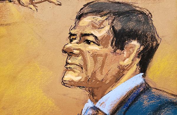 La defensa afirma que el papel del capo mexicano ha sido exagerado por testigos colaboradores de la defensa que buscan indulgencia en sus propi