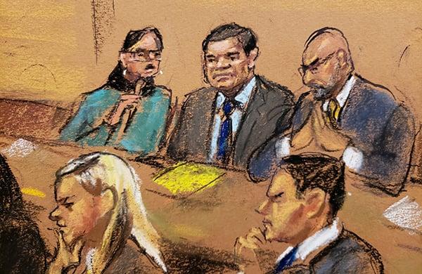 Los 12 integrantes del jurado deliberaron en una corte federal en Brooklyn entre lunes y jueves de la semana pasada.  FOTO: REUTERS