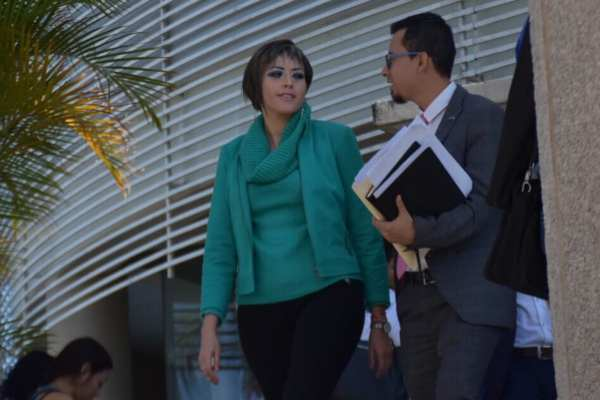 Garibo Puga destacó que desde que asumió el cargo se inhabilitaron a16 ex funcionarios. Foto: Especial