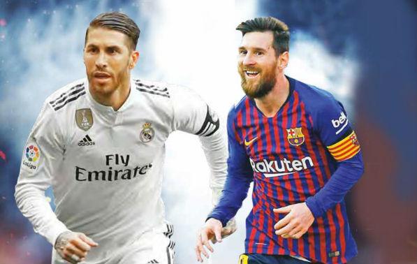 El Real Madrid y el Barcelona definirán al favorito para coronarse en el certamen copero. Foto: Reuters/ Arte: Sandra Romo