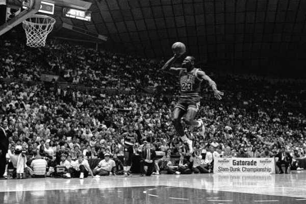 Michael Jordan tuvo dos etapas con los Toros de Chicago. Foto: NBA