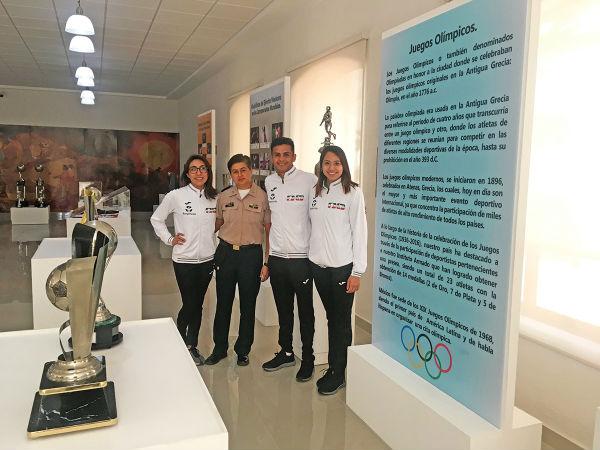 LISTO. La Sala de Historia ya se prepara para recibir a los visitantes que gustan del deporte. Foto Katya López