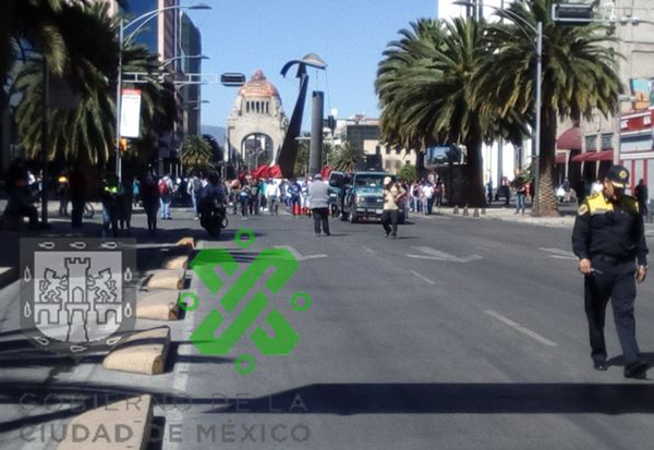 Entre las alternativas viales se encuentranEje Central, José María Izazaga, Eje 1 Oriente y Eje 1 Norte Chapultepec. FOTO: OVIAL