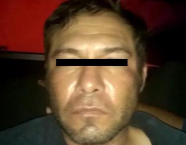"""Se trata de Leornardo """"N"""", quien de acuerdo a las indagatorias, se le responsabiliza por la agresión sexual y posterior asesinato de su hija mientras la cuidaba en su casa. FOTO: FISCALÍA"""