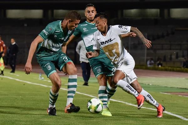 """El Club Universidad tuvo pocos problemas contra los """"cañeros"""" a pesar de que el técnico argentino Bruno Marioni utilizó un equipo alterno. Foto: Cuartoscuro"""