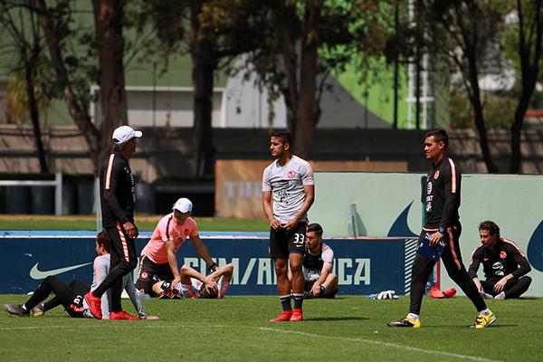 El América, con Miguel Herrera, buscará recuperar y rescatar su imagen luego del partido perdido ante el León en el Estadio Azteca. FOTO: NOTIMEX