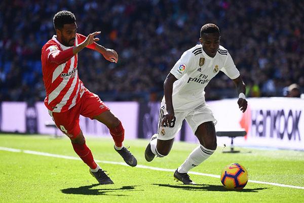 La última derrota en La Liga era el 2-0 encajado en el Bernabéu contra la Real Sociedad el pasado 6 de enero. FOTO: AFP