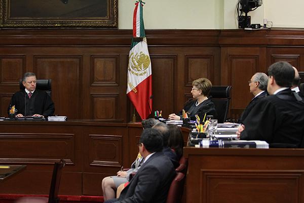 En diciembre pasado, el ministro Alberto Pérez Dayán suspendió dicha ley, por lo que el presidente de la República impugnó tal decisión.  FOTO: CUARTOSCURO