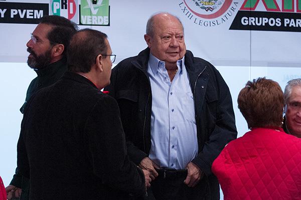 Carlos Romero Deschamps, líder del sindicato petrolero. FOTO: CUARTOSCURO