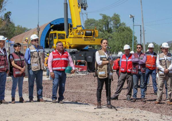 La obra beneficiará a 22 millones de personas en la Zona Metropolitana del Valle de México. FOTO: ESPECIAL
