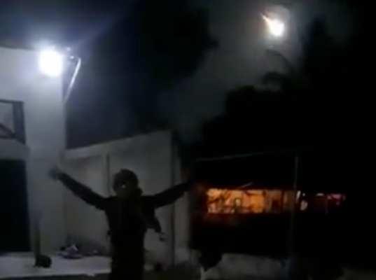 El meteorito iluminó por segundos el cielo venezolano. Foto: Especial