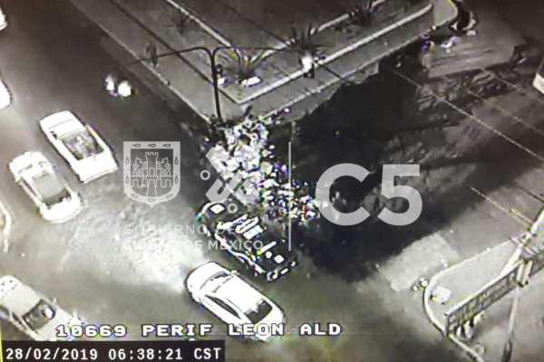 Las autoridades pidieron a los automovilistas tomar precauciones.Foto: C5