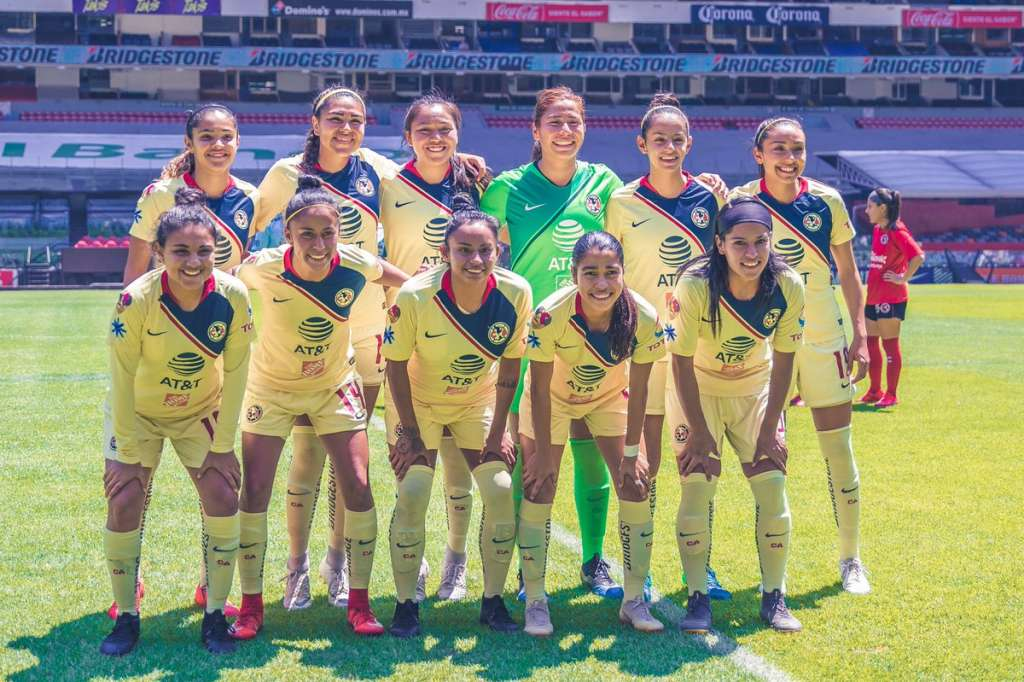 El próximo encuentro para las de Coapa será contra las Pumas de la UNAM. Foto: @AmericaFemenil