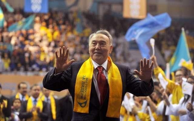 Nazarbáyev llegó a la presidencia en 1989, cuandoKazajistán todavía era una república soviética. Foto: AFP