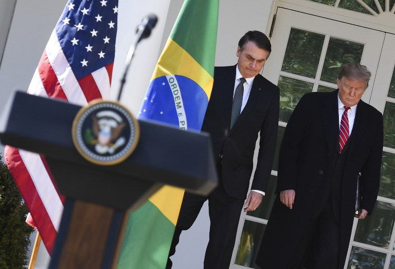La única forma de que Brasil colabore en la OTAN es como