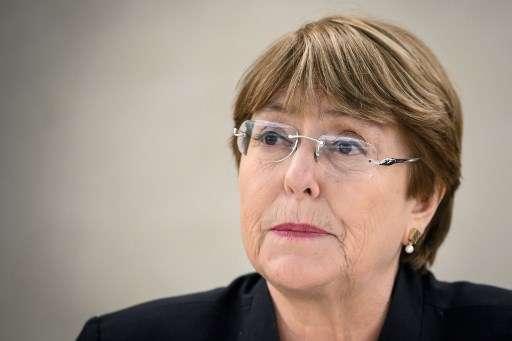 La radiografía expuesta por Bachelet delata parte de la tragedia venezolana.FOTO: AFP