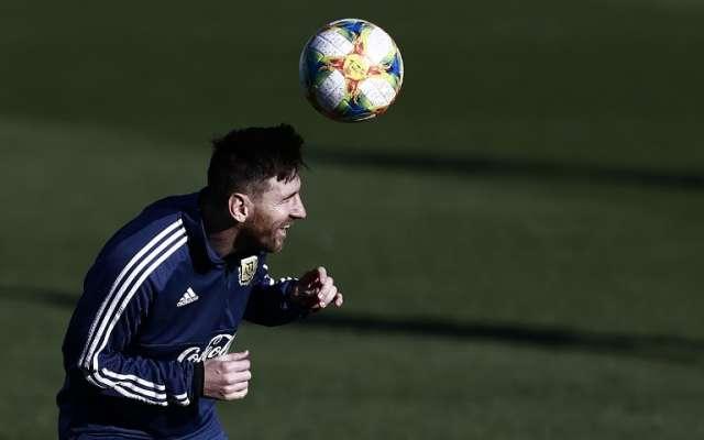 La escuadra argentina se prepara en España para la fecha FIFA. Foto: AFP