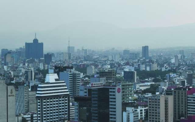 Será a las 10 de la mañana cuando se informen las condiciones ambientales en la Megalópolis. FOTO:ESPECIAL
