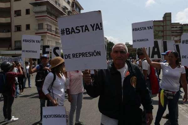Protestas en Venezuela contra el apagón y Maduro