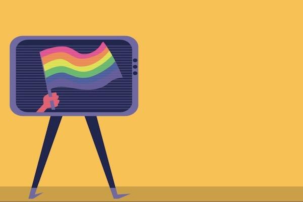 La clave está en mostrar que otro tipo de representación para parejas homosexuales es posible. Ilustración Alla G. Ramírez