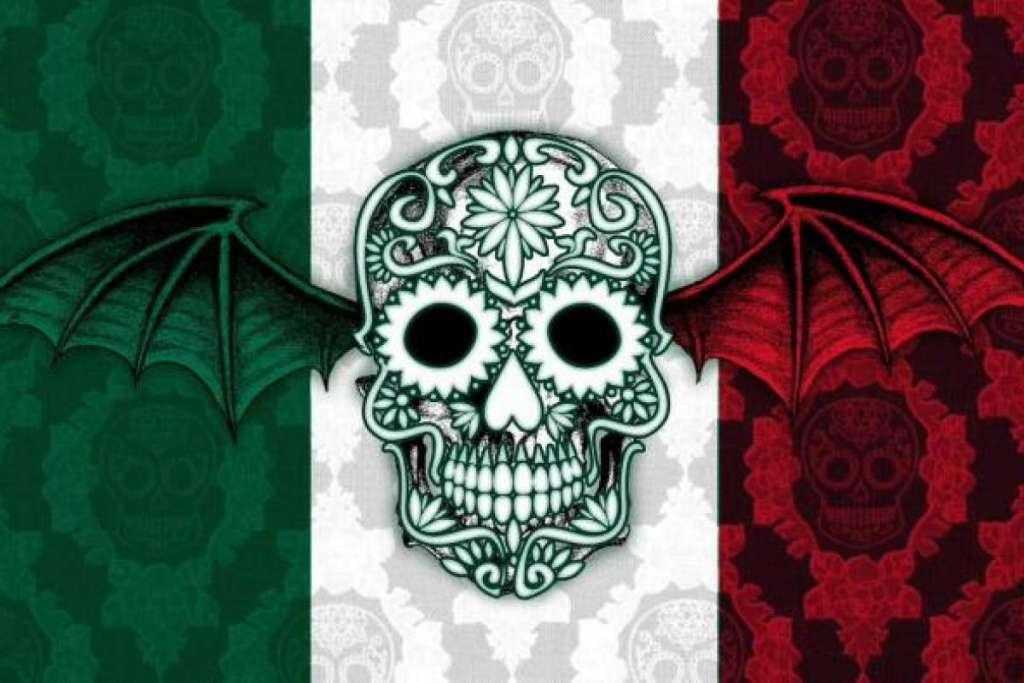 La banda californiana Avenged Sevenfold homenajeó al folclor mexicano con su propia versión de un famoso huapango. Foto: Especial