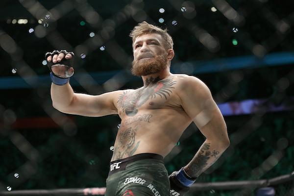 El irlandés fue suspendido de la UFC por 6 meses y sancionado con 50 mil dólares por una pelea tras caer ante Khabib Nurmagomedov en octubre de 2018. Foto: AP
