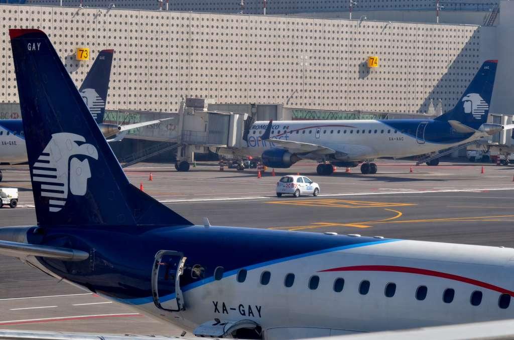 La conexiónWi-Fi estará disponible en29 equipos Boeing 737-800 y todos los Boeing 737 MAX, sin cargo. Foto:Archivo | Cuartoscuro