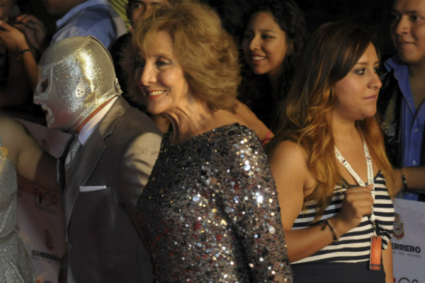 En total, Velázquez participó en 5 películas junto al ídolo de la lucha libre mexicana