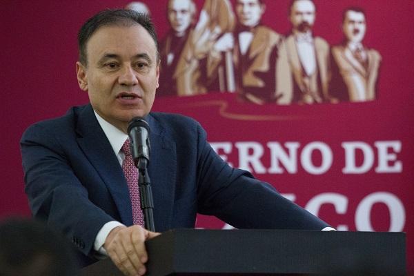 Alfonso Durazo reiteró que en la dependencia a su cargo