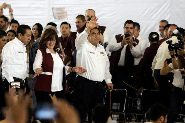 Se comprometió a representar dignamente al bloque de Morena, PT y PVEM en la elección extraordinaria del 2 de junio y descartó aprovechar la imagen y aceptación del presidente Andrés Manuel López Obrador.