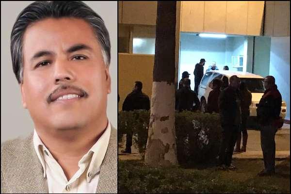 El periodista fue asesinado la noche del viernes en San Luis Río Colorado,Sonora.