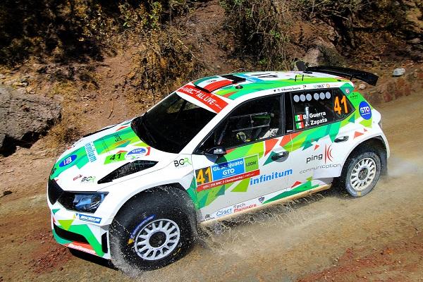 SÓLIDO. Benito Guerra brilla con luz propia. Foto: WRC