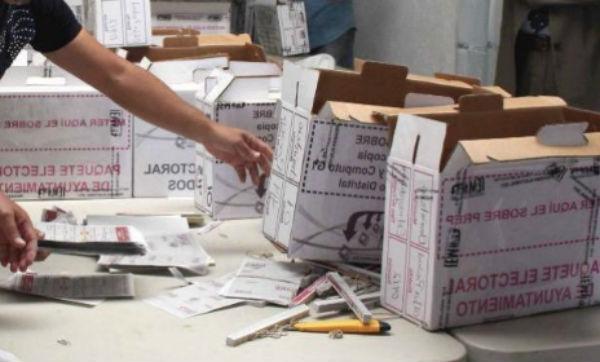 El próximo lunes se formalizará un acuerdo de cooperación para la reutilización de la papelería electoral. FOTO: ESPECIAL
