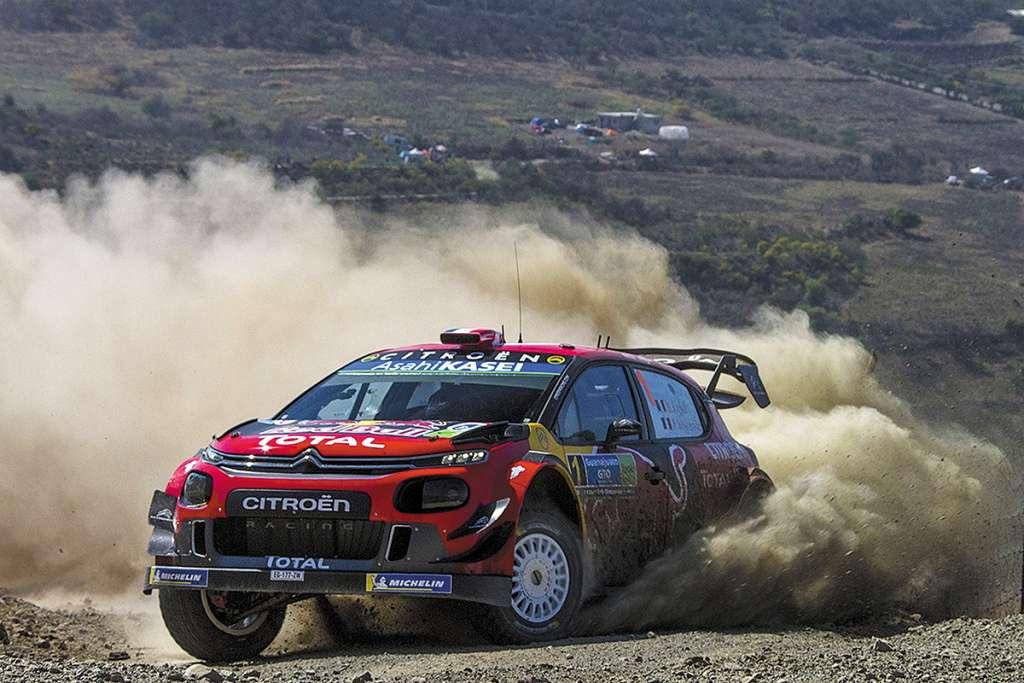 Foto durante la Arrancada SS1 del World Rally Championship Mexico- Guanajuato 2019 desde la Calera en Leon, Guanajuato.