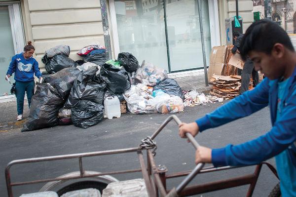 Tiradero de basura en Centro capitalino.FOTO: ESPECIAL