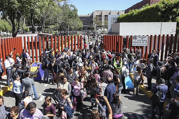 Diputados ya analizan el dictamen de la reforma educativa. FOTO: CUARTOSCURO