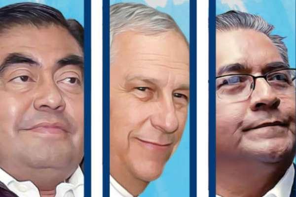 Resultado de imagen para los tres candidatos elecciones de puebla