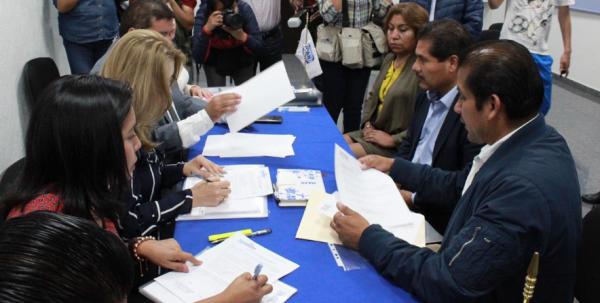 El CDE revisará la viabilidad de estos siete registros. FOTO: @PANPUEBLA