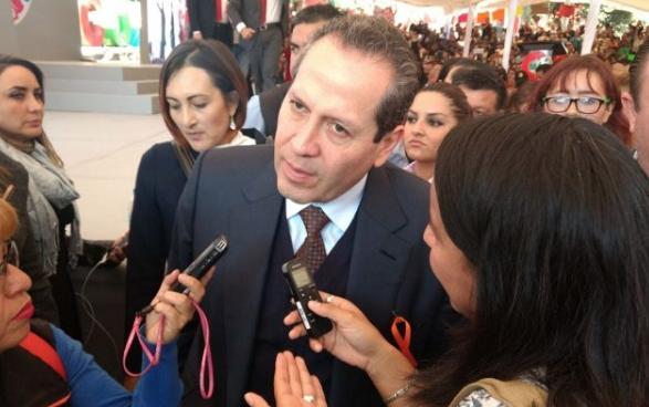 Eruviel aclaró que la iniciativa la presenta no sólo como senador, sino como mexicano y sin tintes partidistas. FOTO: ARCHIVO/ NOTIMEX