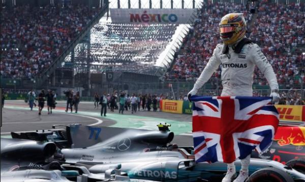 Gran Premio de México. FOTO: ESPECIAL