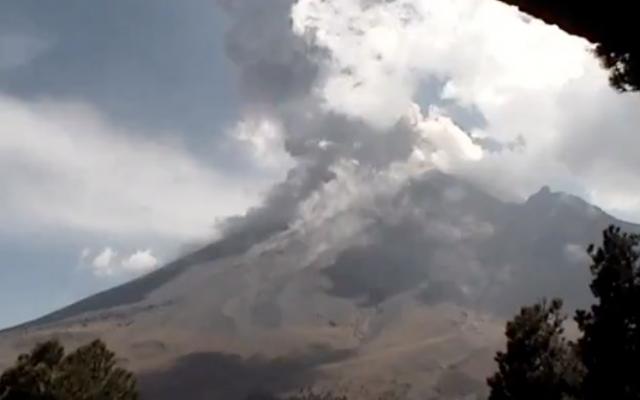 Prevén caída de ceniza en más de 4 localidades de Puebla. FOTO: ESPECIAL