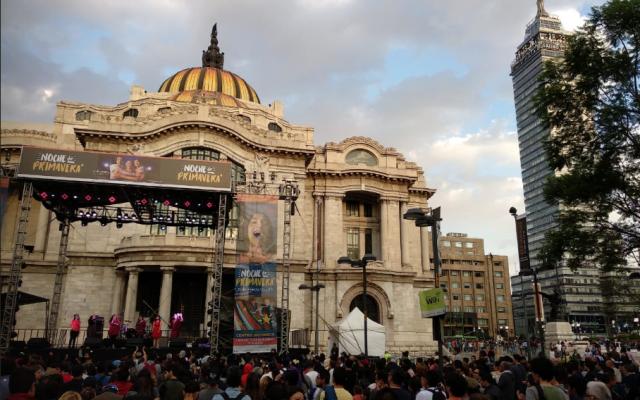 Bandas internacionales y nacionales tocan al aire libre. Foto: @CulturaCiudadMx