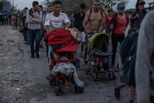 Funcionarios del Triángulo Norte de Centroamérica y EU se han reunido para abordar el tema de la migración. Foto: Cuartoscuro