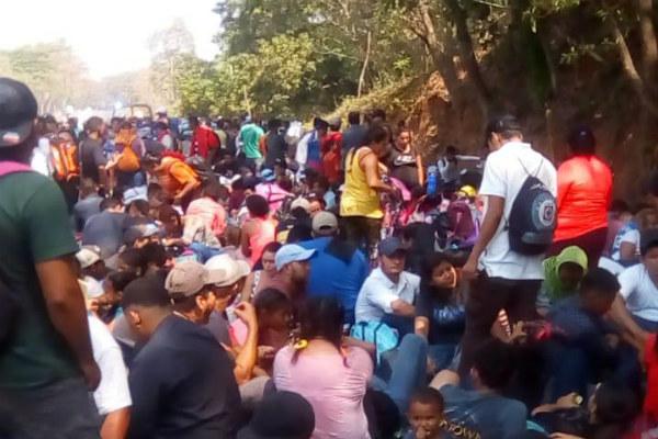 En tanto, las oficinas del INM en Tapachula continúan cerradas